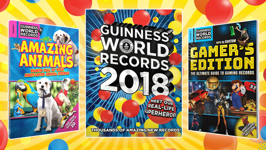 5 things you didn't know were in the Guinness World Records 2018 collection