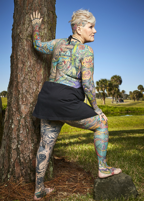 Most tattooed senior citizen 2