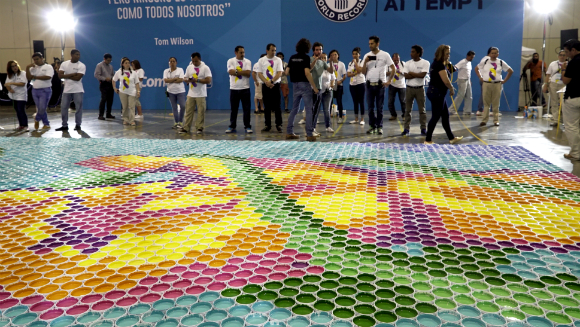 Largest paint can mosaic 4