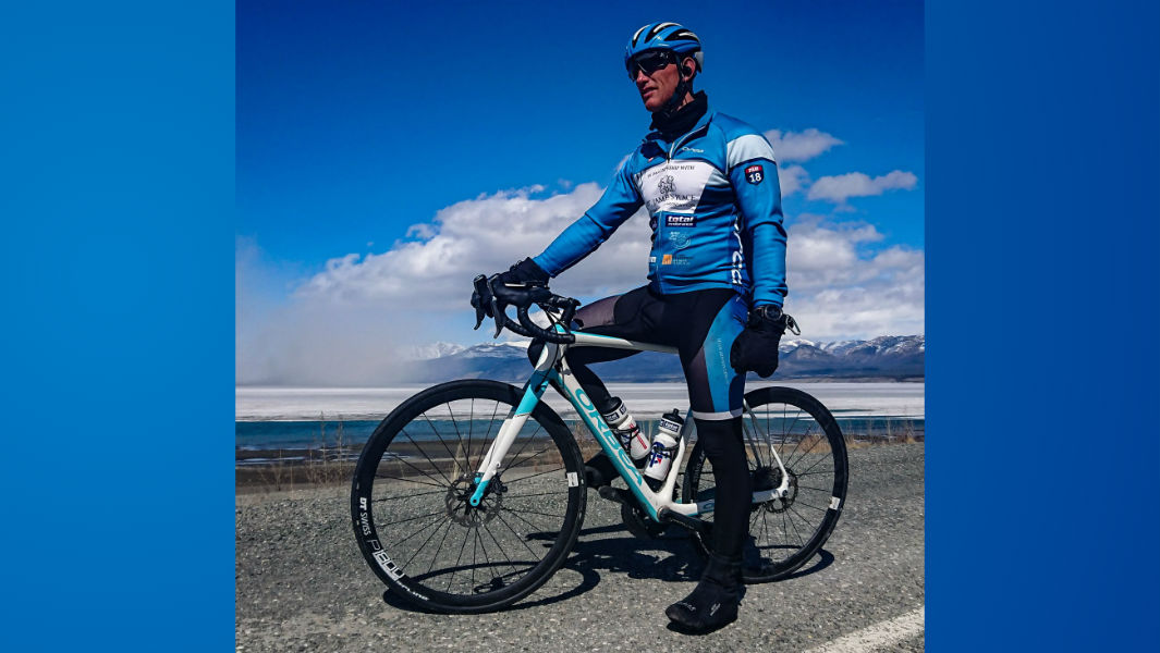 Special Forces soldier breaks record for cycling the Pan-American Highway