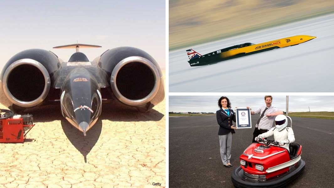 meet the fastest cars in the world 20 years after thrust