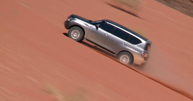 fastest-time-to-acsend-a-100-m-sand-dune-by-a-car-nissan-patrol