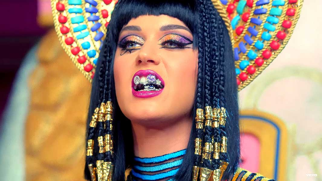 Million-dollar teeth grill worn by Katy Perry is confirmed as most valuable ever