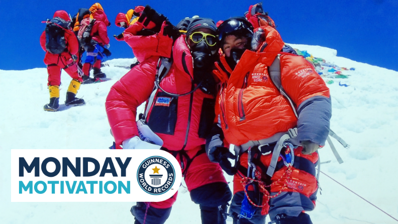 Monday Motivation: Climbing Everest - a labor of love for a Nepalese father and daughter