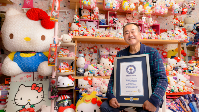 Video: Check out the Japanese collector who has the largest collection of Hello Kitty memorabilia