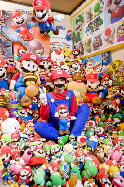 Largest mario collection