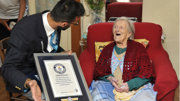 Oldest living person (female)