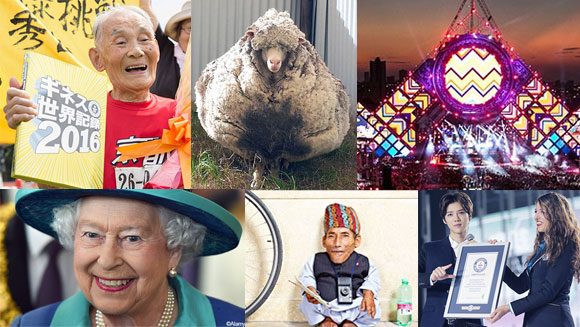 2015 in World Records - September: Elizabeth II is longest reigning queen and Jaguar completes largest loop the loop