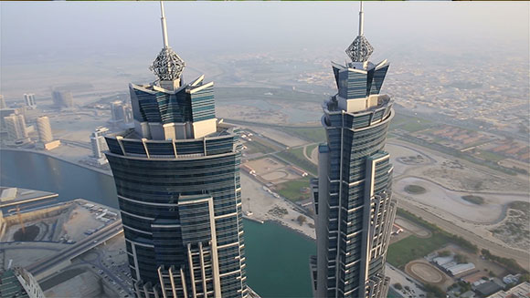 World's tallest hotel: Take a look inside the J W Marriott Marquis Dubai