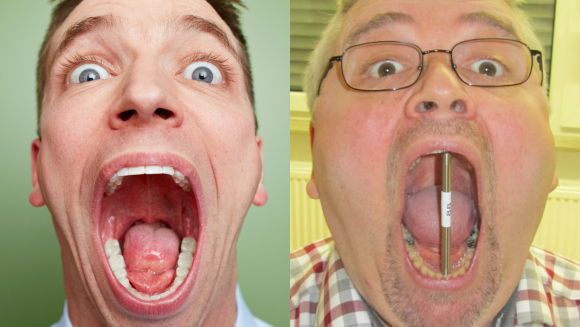 Video: Open wide! Largest mouth gape record claimed by Germany's Bernd Schmidt