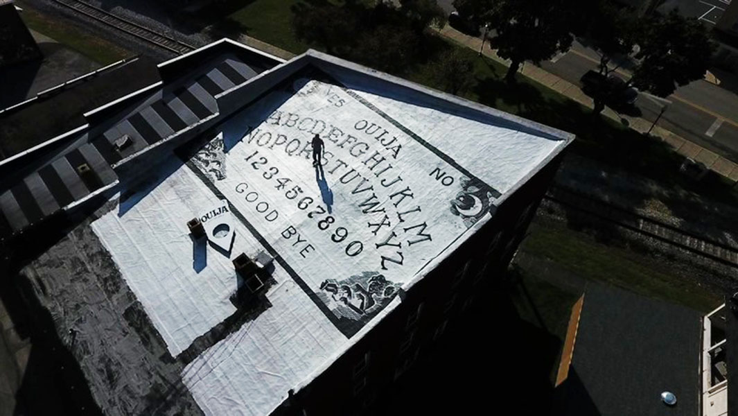 This haunted hotel is home to the world's largest Ouija board and tarot card