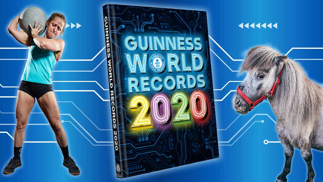 Guinness World Records 2020 List.Power Your Curiosity Introducing The Stars Of Guinness