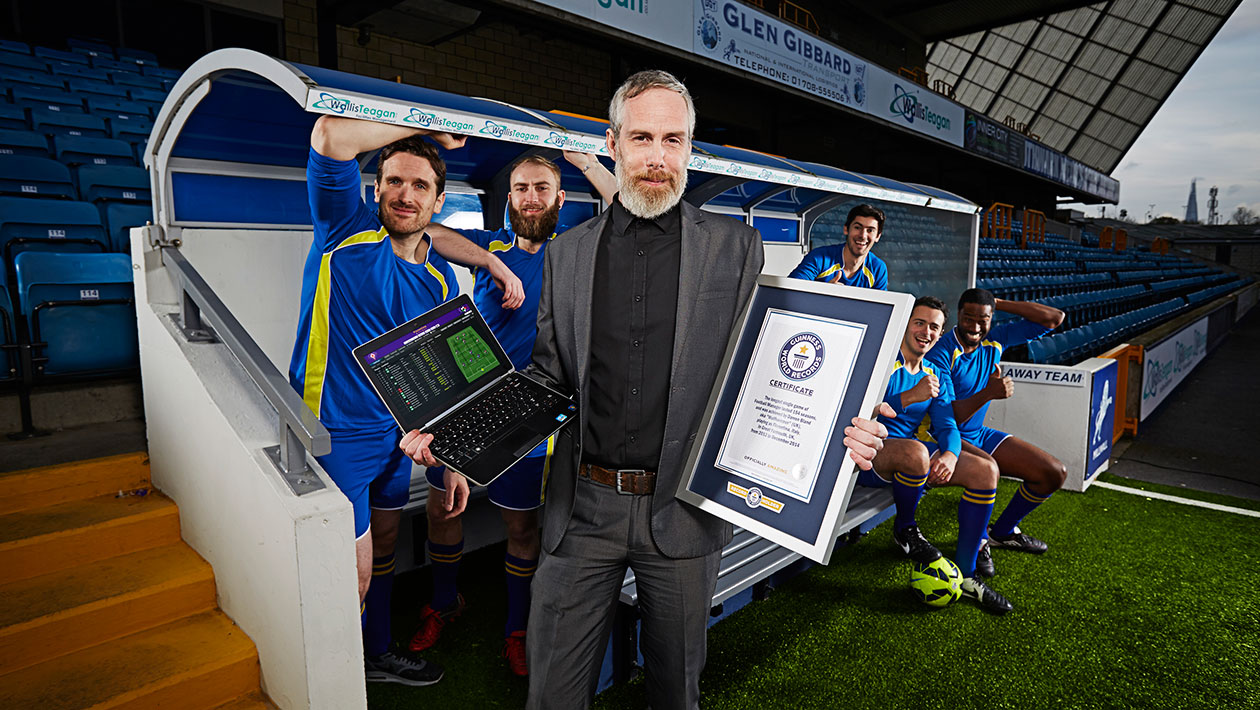 Video: Football Manager fanatic makes the record books with incredible 154 season career