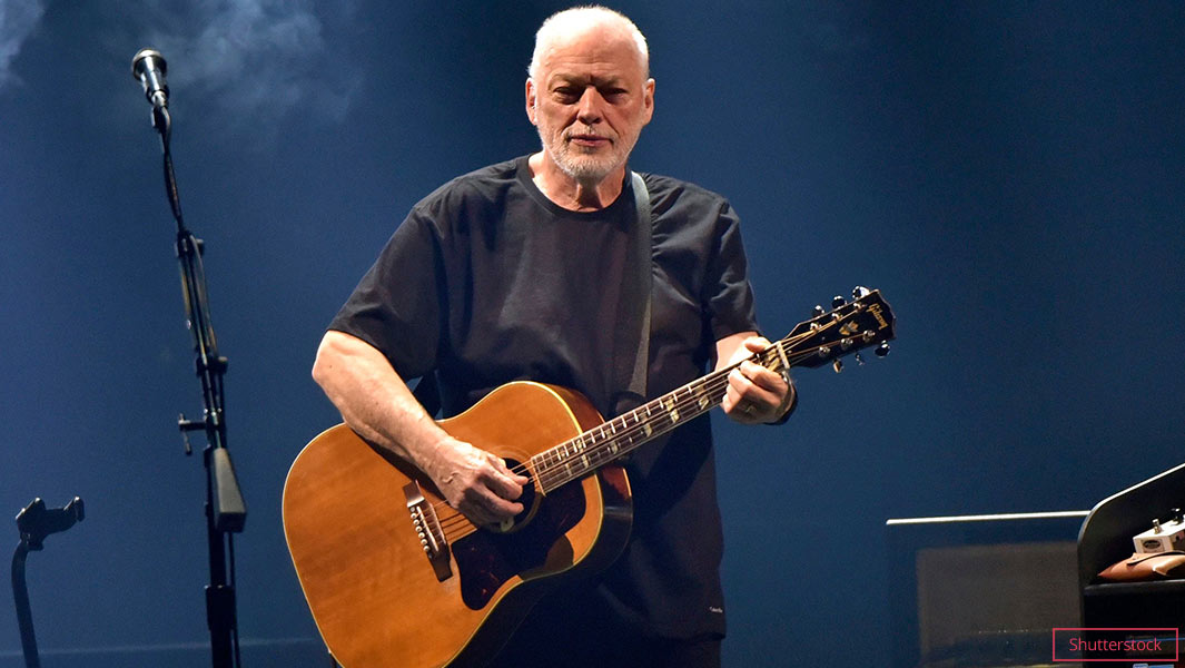 Former Pink Floyd guitarist and singer, David Gilmour