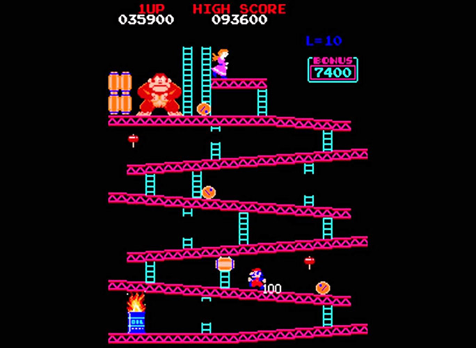 Mario made his debut in Donkey Kong (1981) under the guise of 'Jumpman'