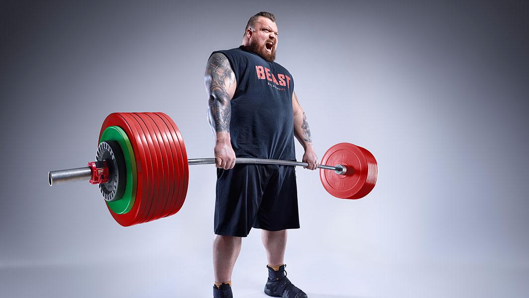 Video: World's Strongest Man winner Eddie Hall shares his
