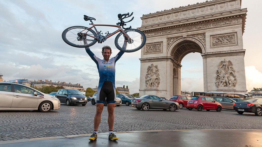 Mark Beaumont explains what it takes to cycle around the world in record time