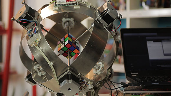Has this robot just set a new Rubik's cube world record?