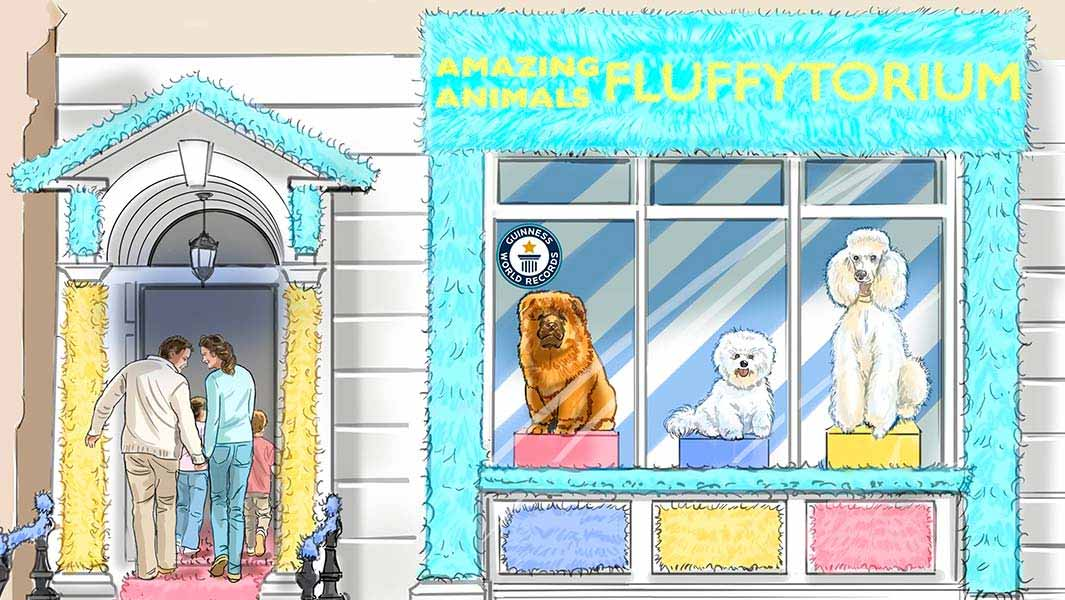 The Amazing Animals Fluffytorium comes to the UK