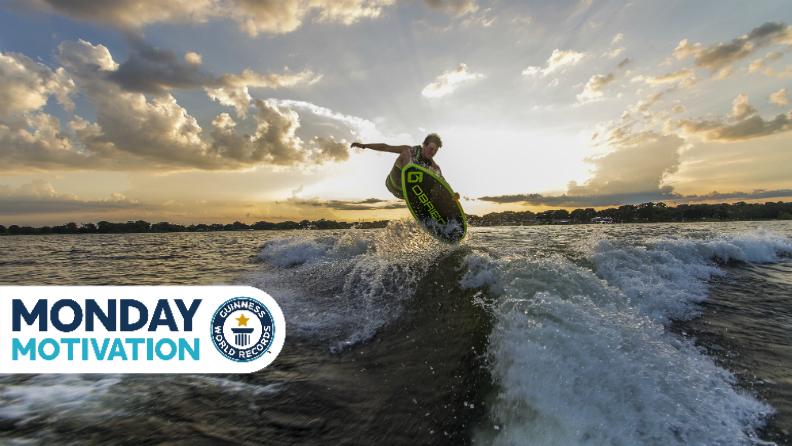 Monday Motivation: Hunter Sims, record-breaking wakesurfing