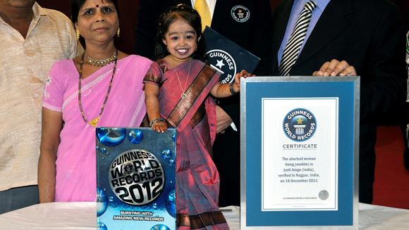 New world's shortest woman: It's official – Jyoti Amge from India is new record holder