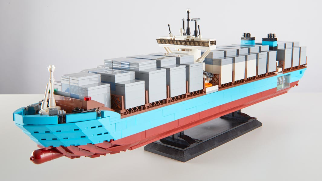 Win the LEGO® container ship from Guinness World Records 2019