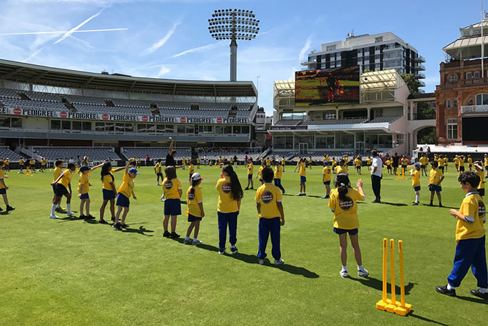 Largest cricket lesson bowling