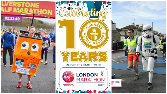 Virgin Money London Marathon: 73 costumed runners hope to break world records