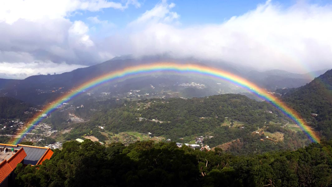 Record confirmed for stunning Taipei rainbow that lasted for almost 9 hours