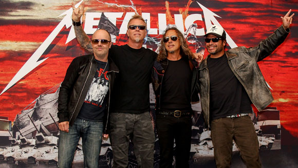 Metallica rock their way into Guinness World Records 2015 Edition