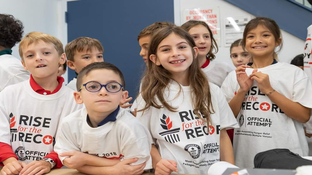 Rise Against Hunger sets record as part of campaign to support World Food Day