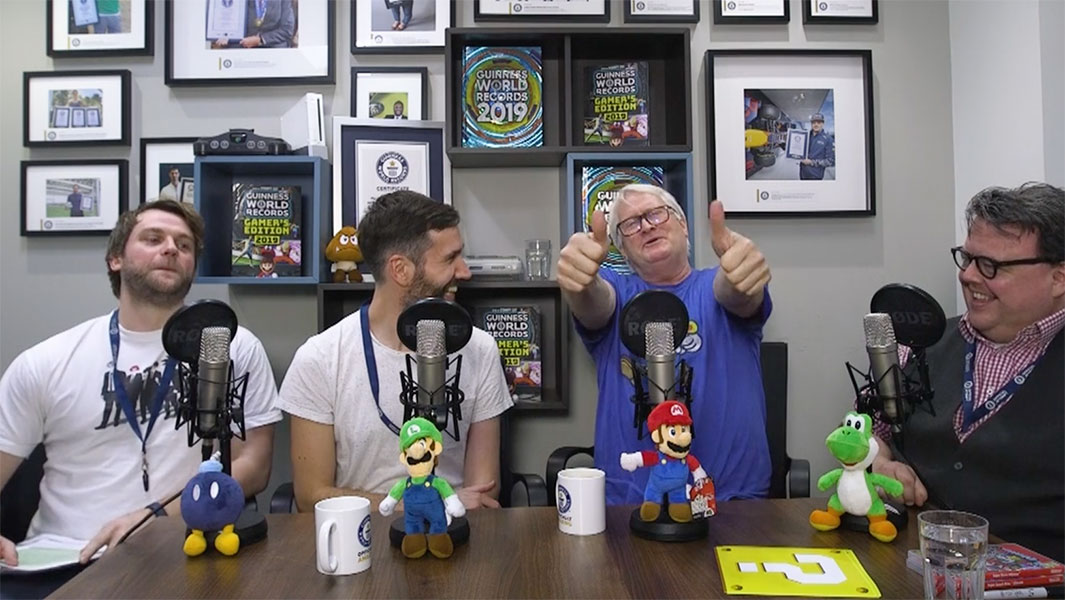 Charles Martinet the voice of Super Mario