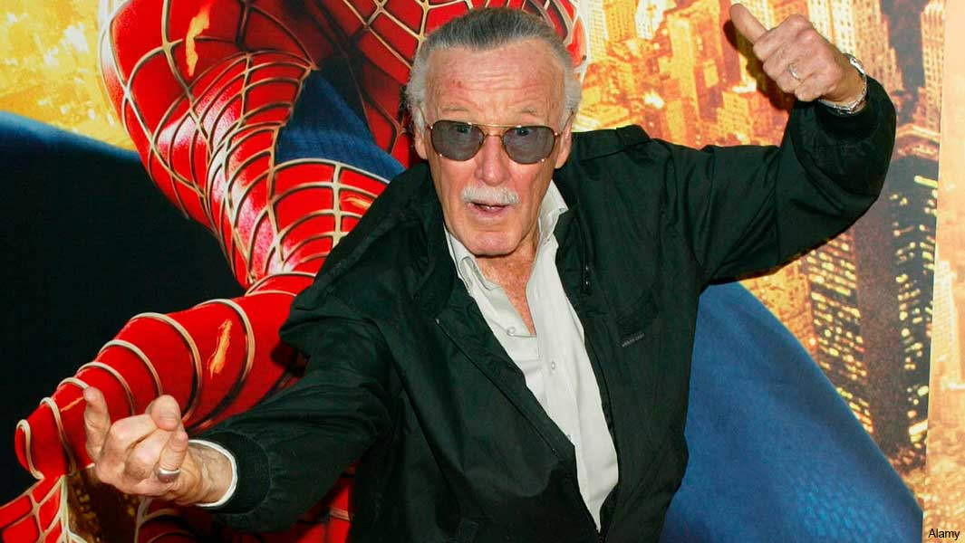 Stan Lee who has died at the age of 95