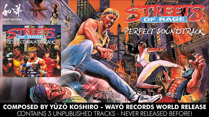 Yuzo Koshiro's Streets of Rage soundtrack