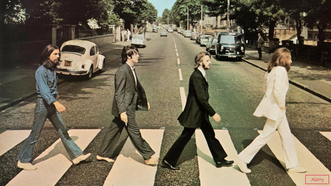 The Beatles set another record as Abbey Road returns to the top of the UK charts