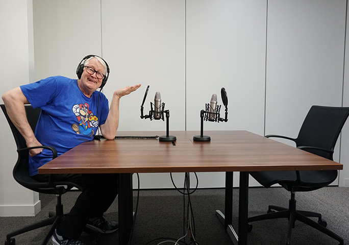 Charles Martinet made a guest appearance on an edition of the GWR Gamer's Podcast in 2018