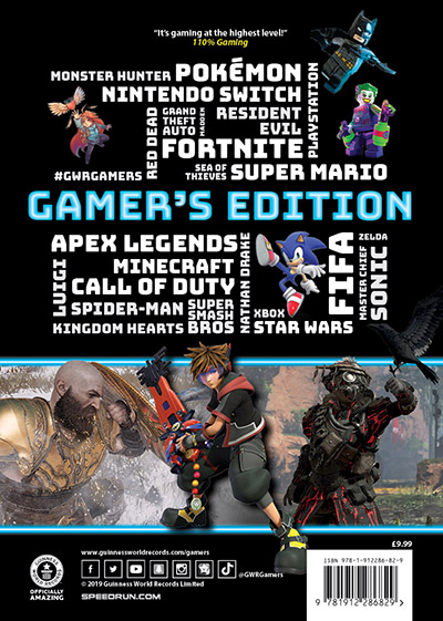 Gamer's Edition 2020 back cover