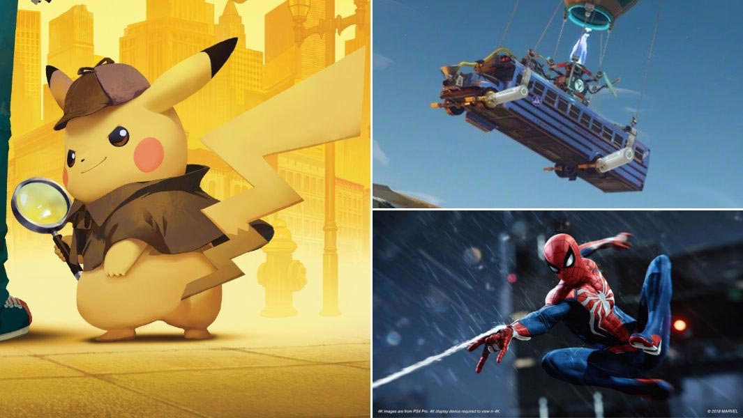 Pikachu, Fortnite and Spiderman all feature on the cover of Guinness World Records Gamer's Edition 2020