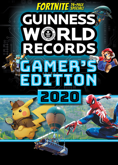 The records held by Gamer's Edition 2020 cover characters