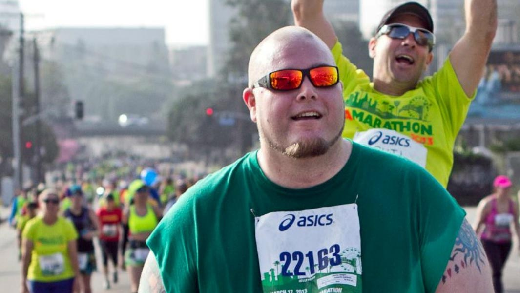 Monday Motivation: How a 400 lb runner became the heaviest man to complete a marathon