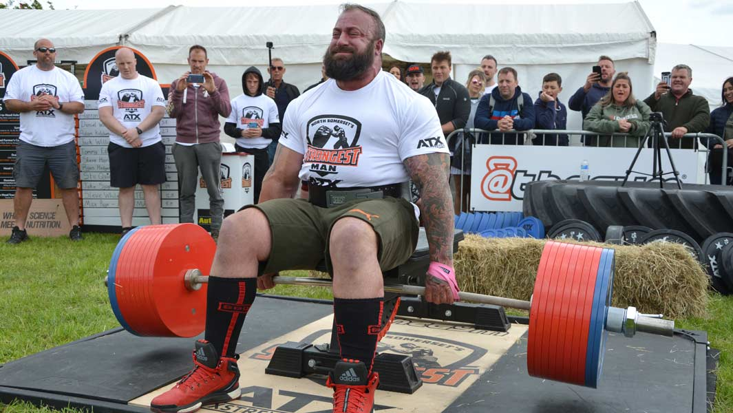 Disabled strongman and Invictus Games star picks up 505 kg to set seated deadlift record