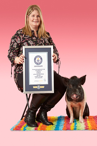 Joy and Dawn with their official GWR certificate