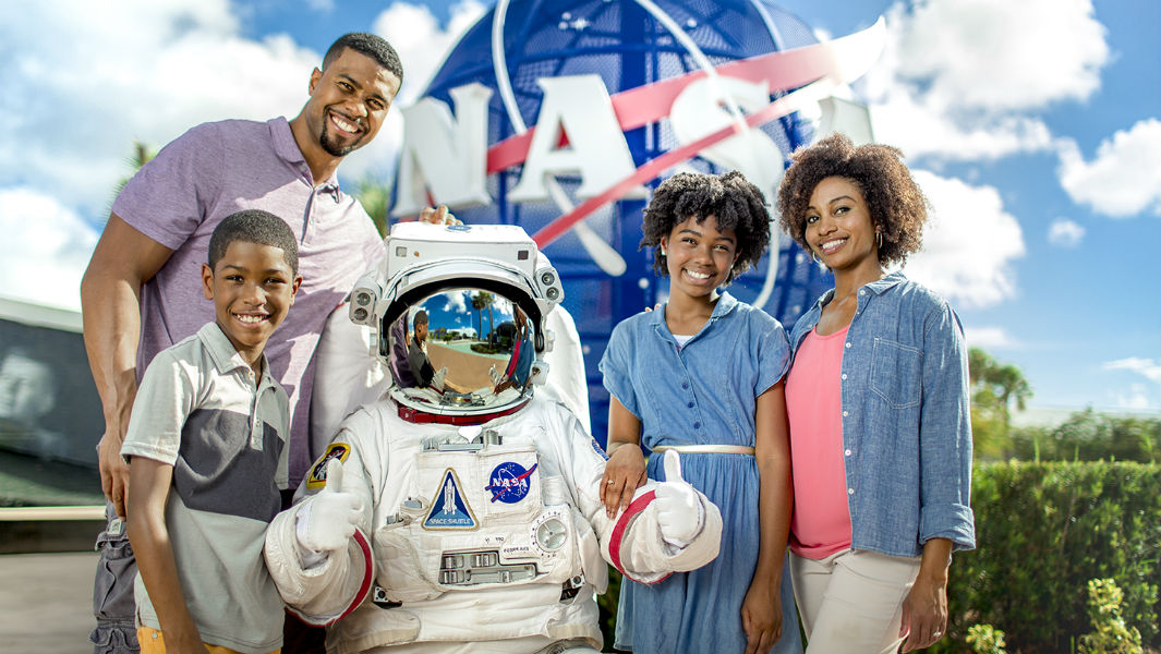 Win a record-breaking Kennedy Space Center Visitor Complex℠ astronaut experience with Guinness World Records 2019