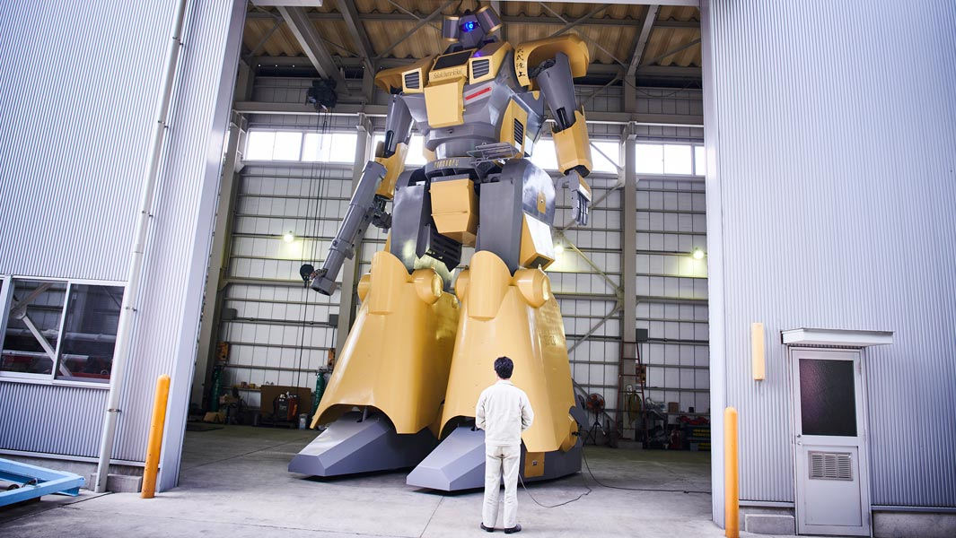 World's largest humanoid robot is too tall to leave its warehouse