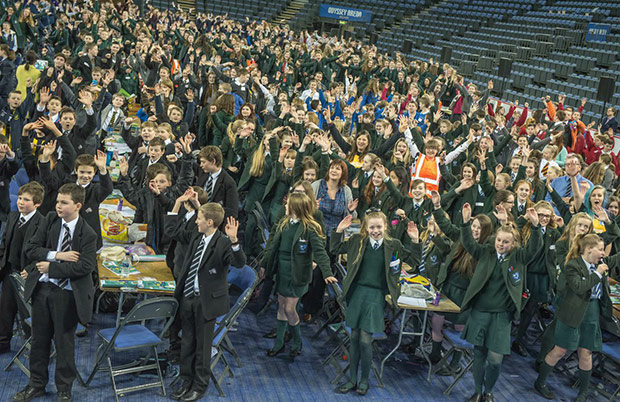 Largest science lesson in Belfast - Guinness World Records 5
