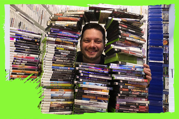 World's largest videogame collection