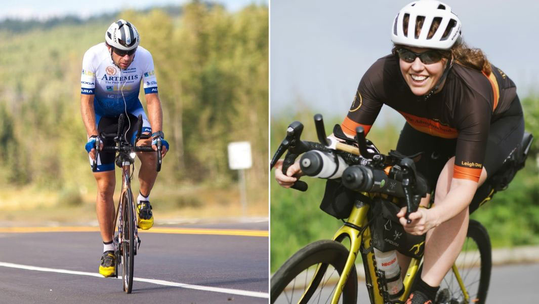 Mark Beaumont and Jenny Graham hold the male and female records for fastest circumnavigation by bicycle