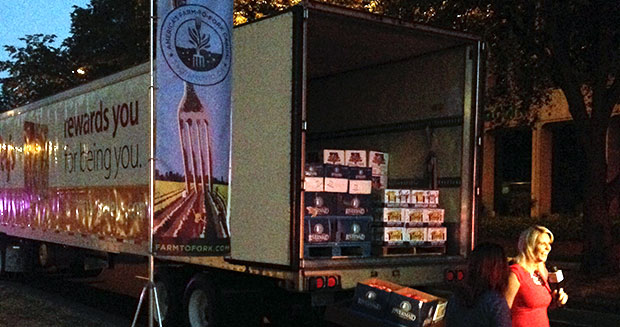 most-fruit-and-vegetables-donated-in-24-hours-truck
