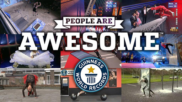 Latest People Are Awesome video highlights incredible Guinness World Records title holders