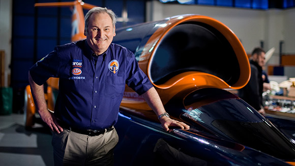 Video: Richard Noble looks back on the 30th anniversary of Thrust 2 land speed record